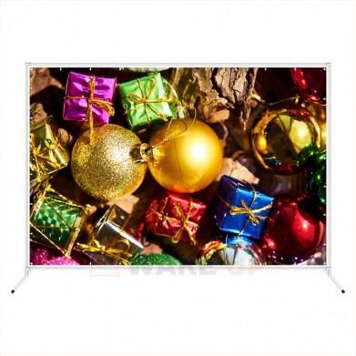 """Новогодняя фотозона """"Новогодние игрушки и подарки"""""""