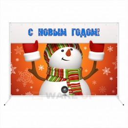 "Новогодняя фотозона ""Снеговик"""