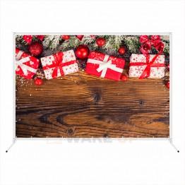 """Новогодняя фотозона """"Новогодние подарки на столе"""""""