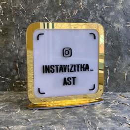 Инстаграм-визитка 20х20см