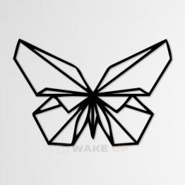 "Объемная 3D картина из дерева ""Бабочка"""
