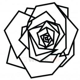 "Объемная 3D картина из дерева ""Роза"""