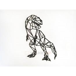 "Объемная 3D картина из дерева ""Тиранозавр"""