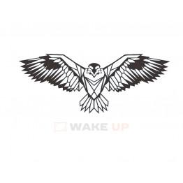 """Объемная 3D картина из дерева """"Парящий орел"""""""