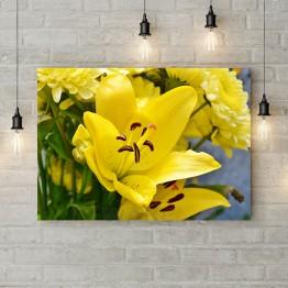 "Картина на холсте ""Желтая лилия"""