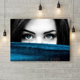 """Картина на холсте """"Неповторимый взгляд"""""""