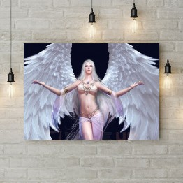 """Картина на холсте """"Девушка ангел"""""""