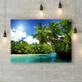 """Картина на холсте """"Райский остров"""""""