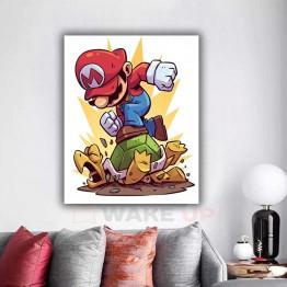 Картина на холсте Марио разрушитель