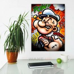 Картина на холсте Моряк Папай Арт