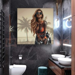 Картина на холсте GTA girl