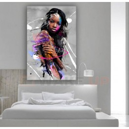 Картина на холсте Black Girl Art