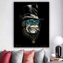 Картина на холсте Rich Monkey