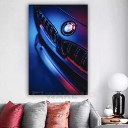 Картина на холсте мускаулкар BMW