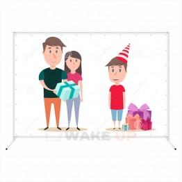 Фотозона на детский день рождения ddr-004