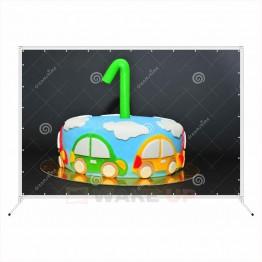 Фотозона на детский день рождения ddr-005