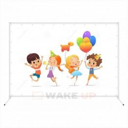 Фотозона на детский день рождения ddr-007