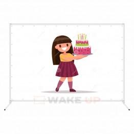 Фотозона на детский день рождения ddr-011