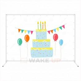 Фотозона на детский день рождения ddr-012
