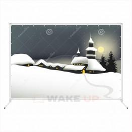 Зимняя фотозона zim-012