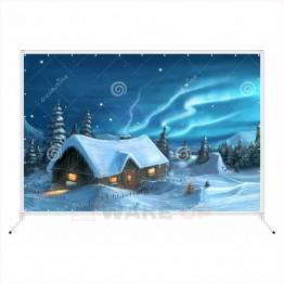 Зимняя фотозона zim-015